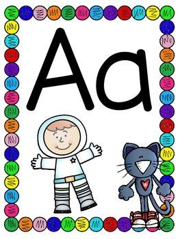 Cool Cat Alphabet