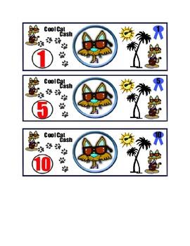 Cool Cat Cash Positive Behavior Intervention Idea