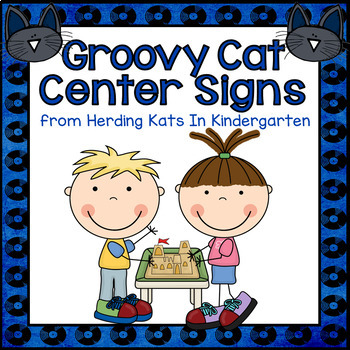 Cool Cat Center Signs