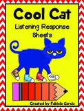 Cool Cat Listening Response Sheets