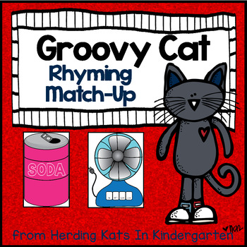 Groovy Cat Rhyming Match-Up