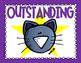 Cool Cat Theme Behavior Chart