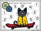 Groovy Cat Themed Roll & Cover Addition & Subtraction Games