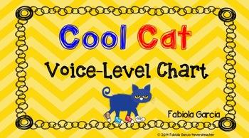 Cool Cat Voice-Level Chart