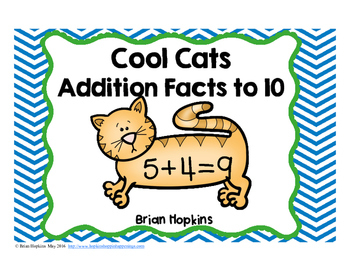 Cool Cats Addition Facts