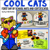 Cool Cats First Day Hats and Certificates