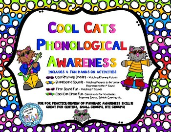 Cool Cats Phonological Awareness