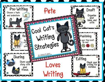 Cool Cat's Writing Strategies / Aussie Version Included