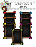 Cool Chalkboards Clip Art (Polka Dots and Pals)
