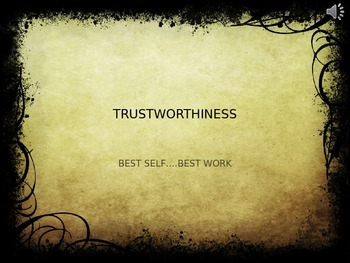 Cool Character Ed for High School! - Trustworthiness