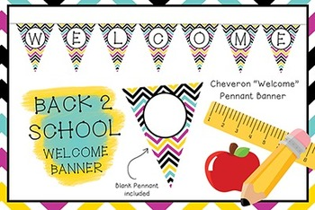 Banner_Welcome_Back to School_Cheveron