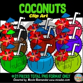 Cool Coconuts Clip Art for Teachers