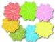 Cool Colors Elements Clipart
