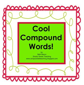 Cool Compound Words Smart Board