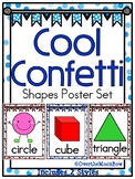 Cool Confetti | Shapes Poster Set