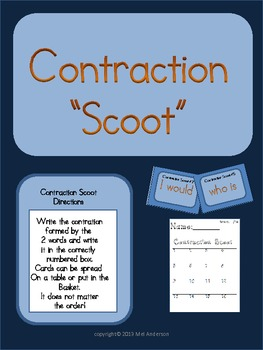 Cool Contractions-Scoot