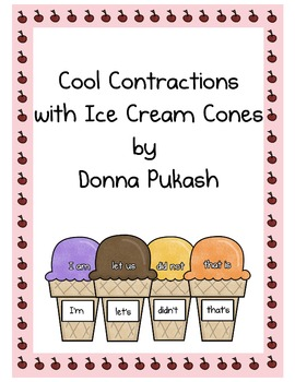 Cool Contractions with Ice Cream Cones