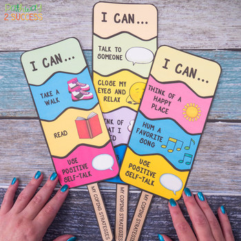 Cool Coping Strategies Lesson and Craft