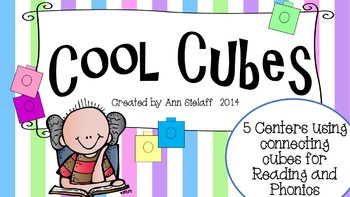 Cool Cubes: 5 Centers for Teaching Reading and Phonics with Cubes