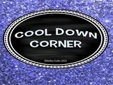 Cool Down Glitter Jar Behavior Intervention