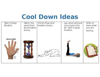 Cool Down Ideas