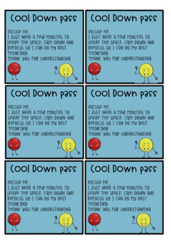 Cool Down Passes
