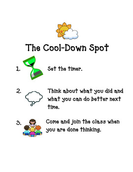 Cool Down Spot Directions