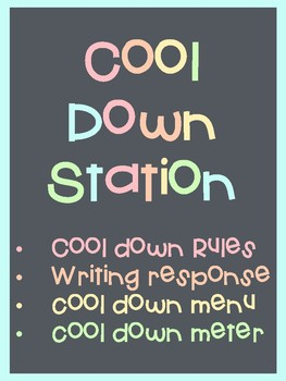 Cool Down Station