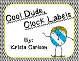 Cool Dude, Clock Labels