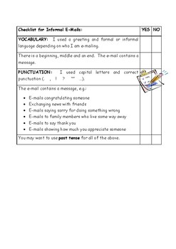 Cool Letter Writing & E-Mail Activities