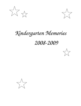 Cool End of the Year Memory Book