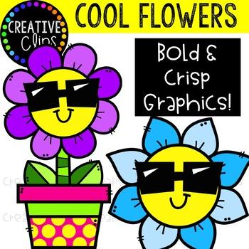 Cool Flower Clipart {Spring Clipart} by Krista Wallden ...