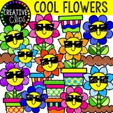 Cool Flower Clipart {Spring Clipart}