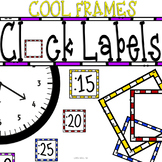 Cool Frames Clock Decor FREEBIE: For Your Classroom Clock
