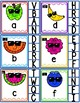 Cool Fruit Clip Cards Alphabet Match Kindergarten Preschool