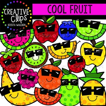 Cool Fruit Clipart {Creative Clips Clipart}
