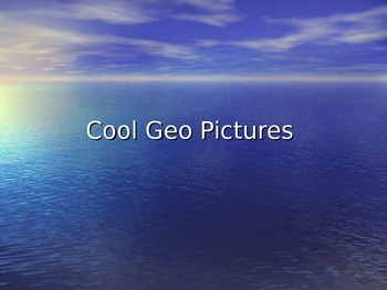 Cool Geography Pictures