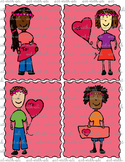 Cool Hair Kids Valentine cards