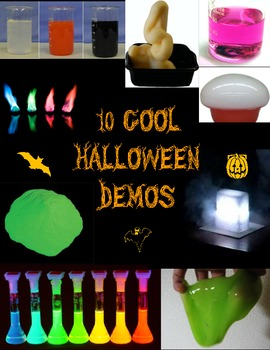 Cool Halloween Science - 10 Demos to wow your Students!