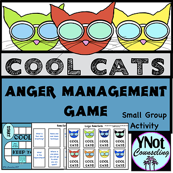Anger Management: Cool Cats Board Game