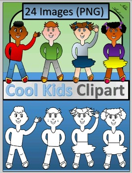 Cool Kids Clip-art
