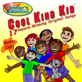 Cool Kind Kid Award-Winning CD-Music Only-Social Skills fo