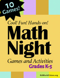 Cool Math Night Games and Activities ~ K-5 School Wide Event