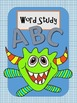 Cool Monster Binder / Notebook Covers