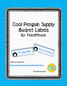 Cool Penguin Supply Labels