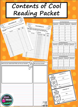 Cool Reading Log Packet