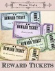 Cool Reward Tickets + Bonus detailed tutorial to add text