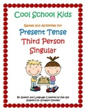 Cool School Kids Games and Activities for Present Tense Third Person Singular