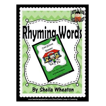 Cool School Rhymes!:  A READ TO LEARN Book About Rhyming Words