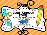 Cool School Tools a read the room activity